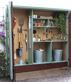 Awesome 57 Inspiring Garden Shed Ideas You Can Afford https://roomaniac.com/57-inspiring-garden-shed-ideas-can-afford/