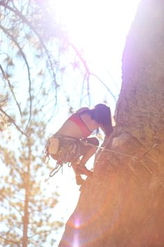 Rock climbing. Terrific honeymoon adventure activity. #honeymoon #activities #climbing