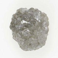 1.19 Carat Silver Color 100% Natural Loose Rough Unique Fancy Diamond
