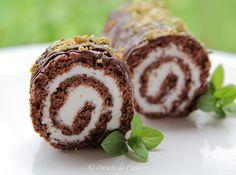 Rulada cu ciocolata - Desert De Casa - Mara Popa