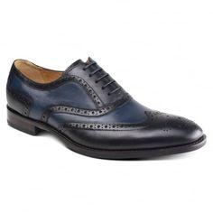 Cresto ZM3777 Black/Navy Shoes
