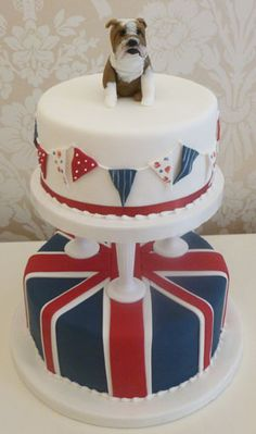 British themed novelty cake