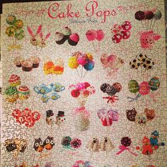neues Hobby :) #puzzle #cakepops #hobby #foodies #vienna #austrianblogger @diebackladies Cake Pops, Puzzle, Kids Rugs, Sweets, Painting, Decor, Art, Hobbies, Art Background