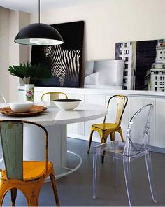 Dining-Room-Ideas-with-Modern-Dining-Chairs-by-Philippe-Starck-6-1 Dining-Room-Ideas-with-Modern-Dining-Chairs-by-Philippe-Starck-6-1