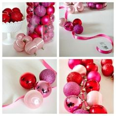 DIY Ornament Garland by lessismore