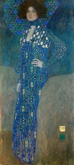 Gustav Klimt. Эмилия Флёге. Густав Климт