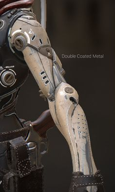 ArtStation - Junkyard Metals - Smart Materials Pack for SP, Paweł Łyczkowski Armor Concept, Concept Art, Mechanical Arm, Arte Robot, Futuristic Armour, Sci Fi Armor, Modelos 3d, Robot Arm, Cyberpunk 2077