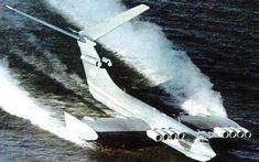 Каспийский монстр: история мощнейшего советского экраноплана
