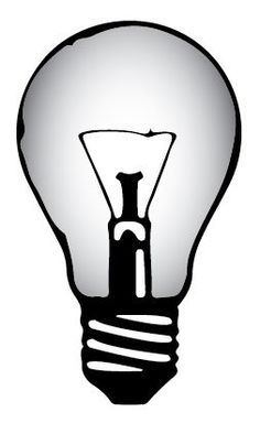 Lightbulb graphic to be used in final designs
