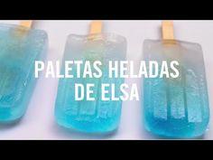 Paletas heladas de Elsa   Recetas Disney Babble con un toque de magia - YouTube