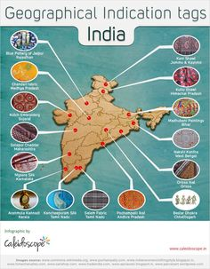 Geographical Indication (GI) is one of the hot question topics for almost all competitive exams including UPSC Civil Services Prelims. What is a GI tag? Gernal Knowledge, General Knowledge Facts, Knowledge Quotes, Ias Study Material, Indigenous Knowledge, Upsc Civil Services, Geography Map, India Map, India India