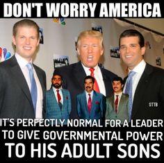 HORRIBLE idea!!  #FuckTrump #FuckRethugliKKKans