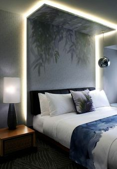Modern Bedroom Ideas - Seeking the very best bedroom design ideas? Make use of these attractive modern bedroom ideas as inspiration for your own fantastic designing system . Modern Master Bedroom, Modern Bedroom Design, Master Bedroom Design, Home Interior Design, Minimalist Bedroom, Bedroom Designs, Master Suite, Modern Interior, Bedroom False Ceiling Design
