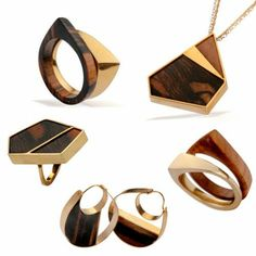wooden jewelry - Vered Bahat