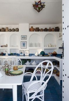 a house with sea view in tangier by the style files, via Flickr