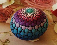 Mandala dreidimensionale Stein von Valeria Campagna