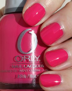 Orly is my FAVORITE brand of nail polish... IT IS THE BEST!