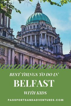 There is a lot more to Belfast than first meets the eye and the city is very family friendly. Learn about the top things to do in Belfast with kids, along with some helpful hints and tips for visiting this great city in Northern Ireland. Europe Travel Guide, Travel Guides, Travel Destinations, Travel With Kids, Family Travel, Visit Northern Ireland, Belfast, Ireland Travel, Portugal Travel