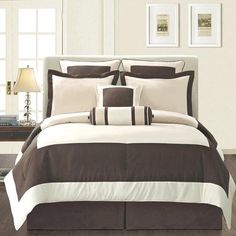 Manhattan Grey Duvet Cover King Set, White