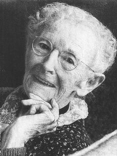 """Anna Mary Robertson Moses (September 7, 1860 – December 13, 1961), better known as """"Grandma Moses"""", a renowned American folk artist"""