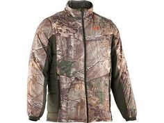 Under Armour 1233777 Men Camo Realtree Primaloft Ridge Reaper Jacket Coat M