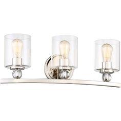 Minka Lavery MIN-3073-613 Studio 5 Polished Nickel  Bathroom Lighting Lighting  eFaucets.com