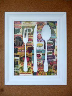 Mini-Omelett-Muffins - New Ideas - New Ideas Fun Crafts, Diy And Crafts, Arts And Crafts, Kitchen Wall Art, Diy Kitchen, Ideias Diy, Antique Decor, Craft Tutorials, Decoration