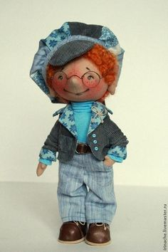 Жорж - гном,гномик,гномики,кукла ручной работы,кукла,кукла в подарок,серый