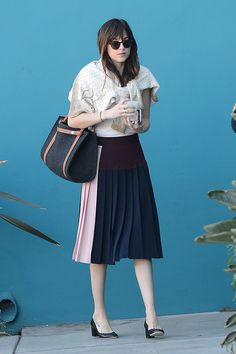 10 Best Dressed: Week of January 12, 2015 – Vogue- Dakota Johnson