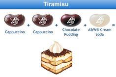 Tiramisu Jelly Belly Flavor Recipe
