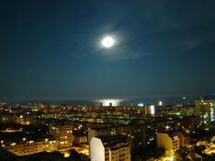 night in Varna city