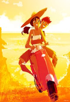 Scooting around by PascalCampion