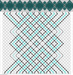 pretty sweet chinese knot pattern to try!    #56237 - friendship-bracelets.net