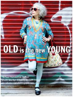66 Ideas Birthday Meme Old Lady Advanced Style Happy Birthday Frau, Happy Birthday Hippie, Happy Birthday Vintage, Beau Message, Look Plus, Advanced Style, Young At Heart, Ageless Beauty, Aging Gracefully