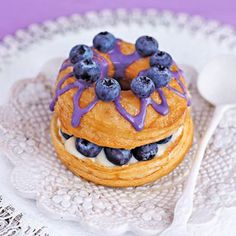 Mile High Blueberry Cronuts