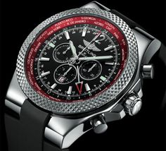 Breittling for Bentley GMT V8 Ltd  (love the use of red here... very rare)