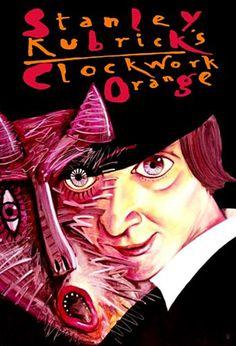 Clockwork Orange, Kubrick, Polish PosterClockwork Orange Art poster inspired by the Stanley Kubrick's movie Original Polish poster designer: Leszek Zebrowski year: 2007 size: Polish Movie Posters, Polish Films, Movie Poster Art, Stanley Kubrick, Poster Shop, Poster Prints, A Clockwork Orange, Pop Art, Gravure Illustration
