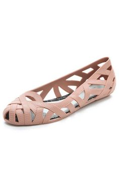 Dont Compromise: Vegan Shoes That Are Easy On The Eyes: Melissa + Jason Wu Jean Cutout Flats from Shopbop