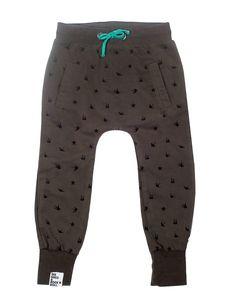 Six Hugs & Rock'n Roll ◊ Grey Tattoo Sweatpants www.cowboybilly.nl