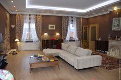 Гостиная в загородном доме +Чехол на диван съемный