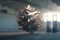 Industrial Warehouse DIGITAL REDNER | CINEMA 4D by Metod Kulcar | Abstract | 3D | CGSociety