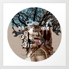A dream for a lifetime · Motörhead · Crop Circle Art Print by Marko Köppe - $19.99