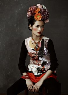 Tibet girl by KIKIXUE   a-youfashion 2015SS image
