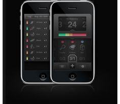 Foobi Mobile UI Design Inspiration
