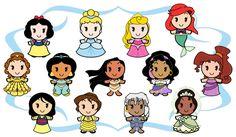Disney_Cuties___Heroines_by_Ciro1984.jpg 3,377×1,966 pixels
