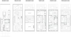 South slope townhouse etelamaki architecture for Townhouse construction cost