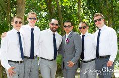 Groom and his groomsmen sandos caracol eco resort wedding photos | sandos caracol wedding photography playa del carmen mexico