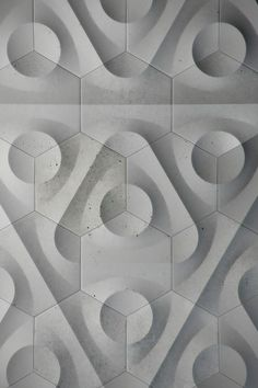 # Blue Circle Embossed / Debossed Geometry Grey Rounded Texture tiles Triangle Wall