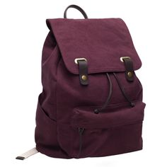 i love this backback, the colour is amazing <3 in burgandy Everlane - Snap Backpack $65