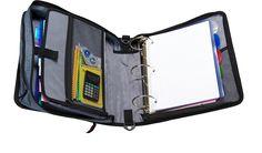 Amazon.com : Case-it Mighty Zip Tab 3-Inch Zipper Binder, Blue, D-146-BLU : Office Products